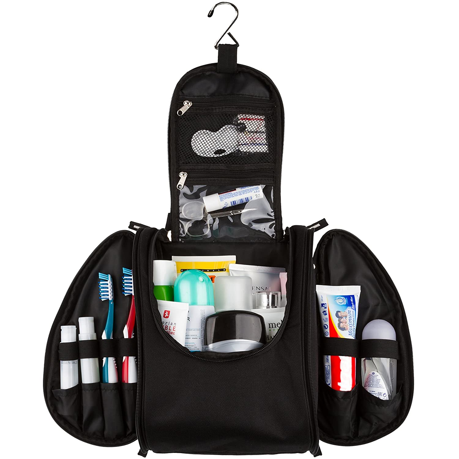 42 Travel - Hanging Toiletry Bag for Travel Accessories (UPGRADED) 42Travel