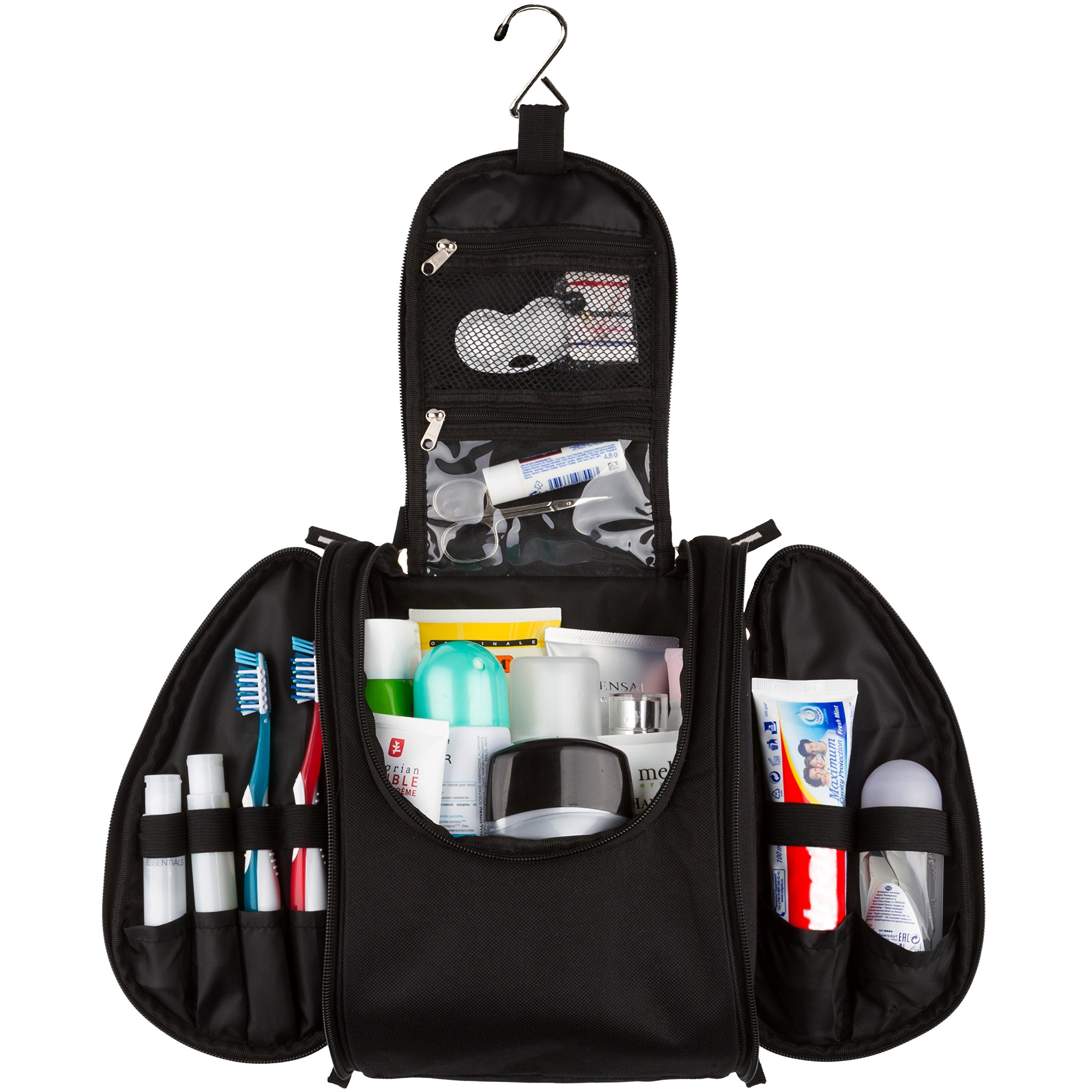 42 Travel - Hanging Toiletry Bag for Travel Accessories (UPGRADED)