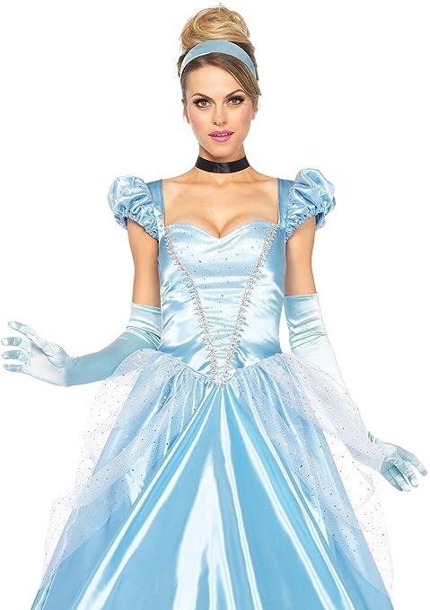 17114ce00962 Leg Avenue - Costume per travestimento da Cenerentola, Donna, M ...