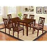 Amazon.com - Coaster Home Furnishings 7-Piece Mission Style Solid ...