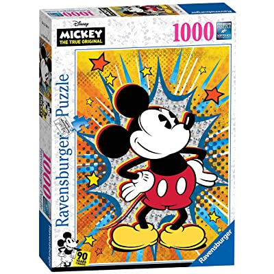Ravensburger Retro Mickey Mouse 1000 Piece Puzzle: Toys & Games
