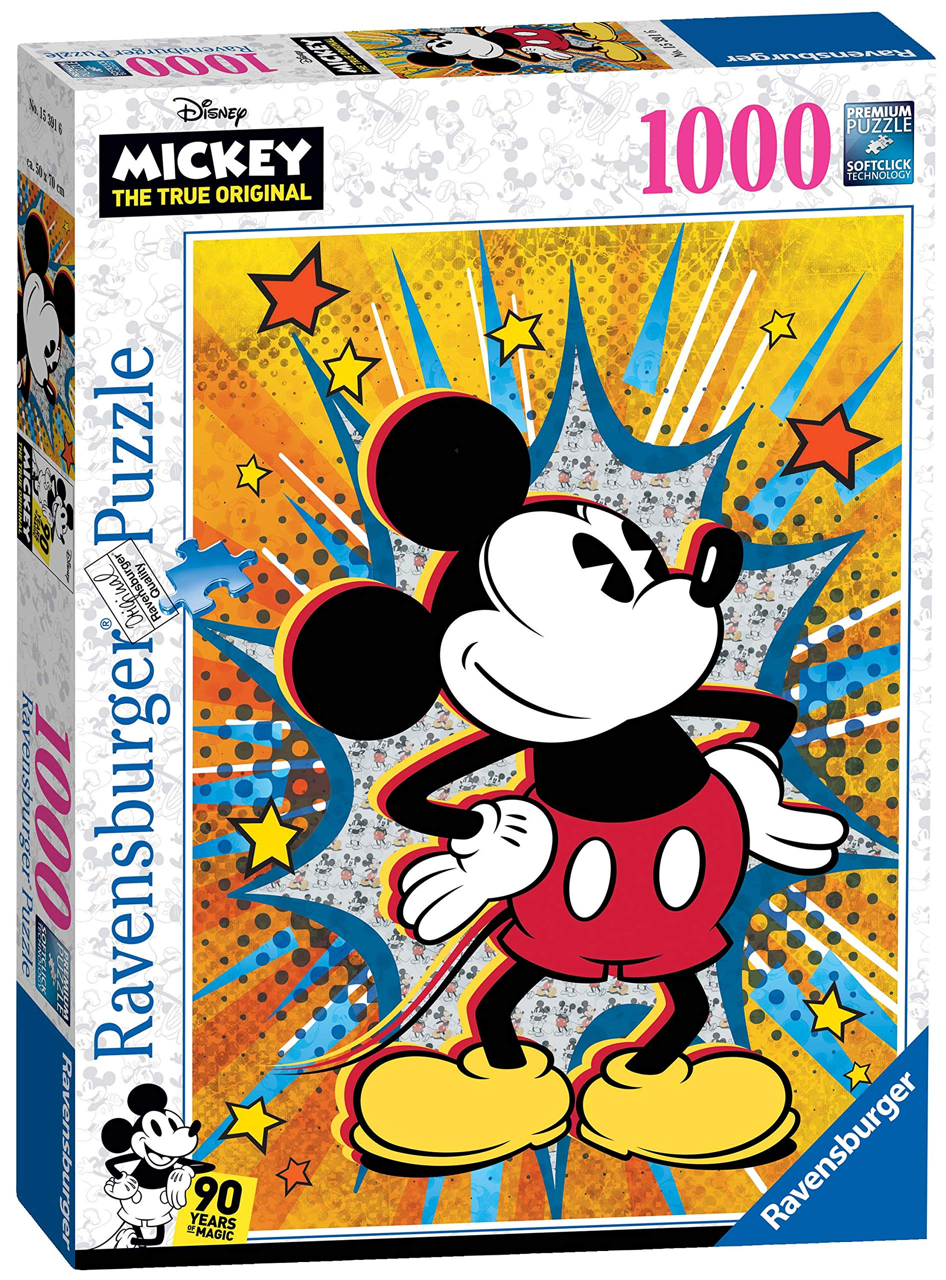 Softclick Technology Means Pieces Fit Together Perfectly Ravensburger 19675 Disney Fantasia Collectors Edition 1000 Piece Puzzle for Adults Every Piece is Unique