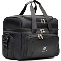MOJECTO Large Cooler Bag. Two Insulated Compartment, Heavy Duty Fabric, Thick Insulation, 2 Heat Sealed Soft Peva Liner…
