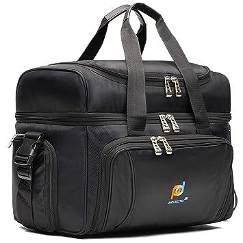 Amazon.com: Bolsa térmica grande. Dos compartimentos ...