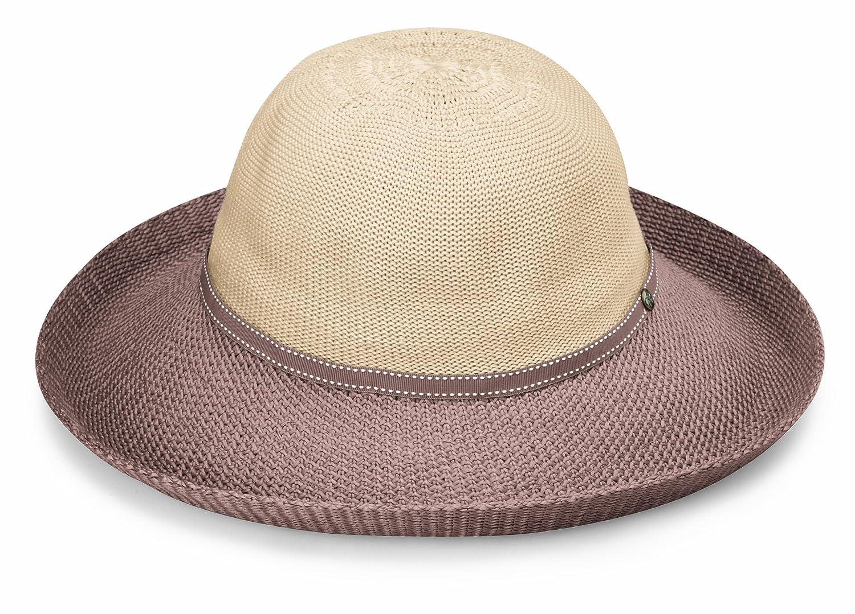 01a982e994e Wallaroo Hat Company Women s Victoria Two-Toned Sun Hat - Beige ...