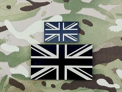 UK IR Flag Standard /& Mini Patch Set Tan UKSF SAS SBS SRR SFSG British Army