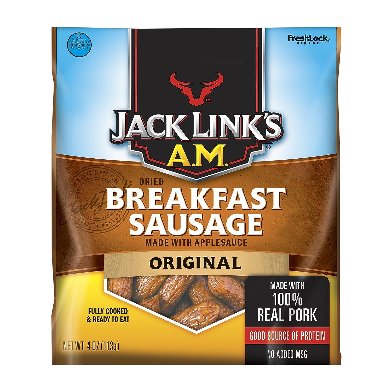 Jack Link's A.M. Breakfast Sausage, Original, 4oz