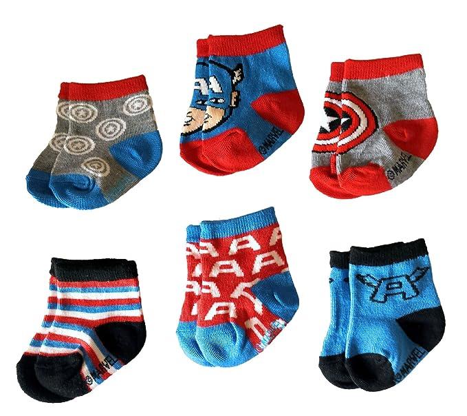Amazon.com: Marvel Capitán América superhéroe infantil bebé ...