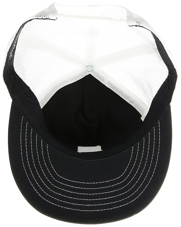 Brixton Mens Stowell High Profile Mesh Snapback Hat