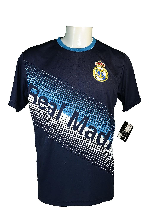 Real Madridサッカー公式大人用サッカートレーニングパフォーマンスPoly Jersey p010 B06XBF8Y5T Adult|レアルマドリード サッカー ジャージ-J010-ラージ Adult