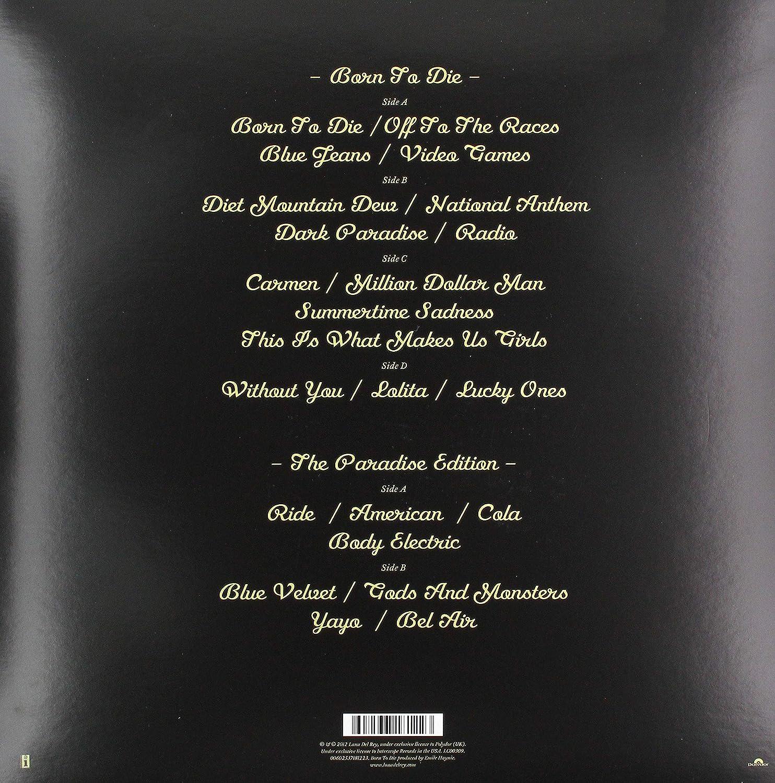 Del Rey Lana Born To Die The Paradise Edition Amazon Com Music