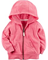 Carter's Baby Girls' Lace Accented Hoodie