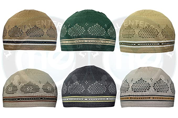 0c62de3b3c7 Manaal Enterprises New Islamic Elastic Beanies Men Muslim Skull Kufi Cap  100% Cotton 21