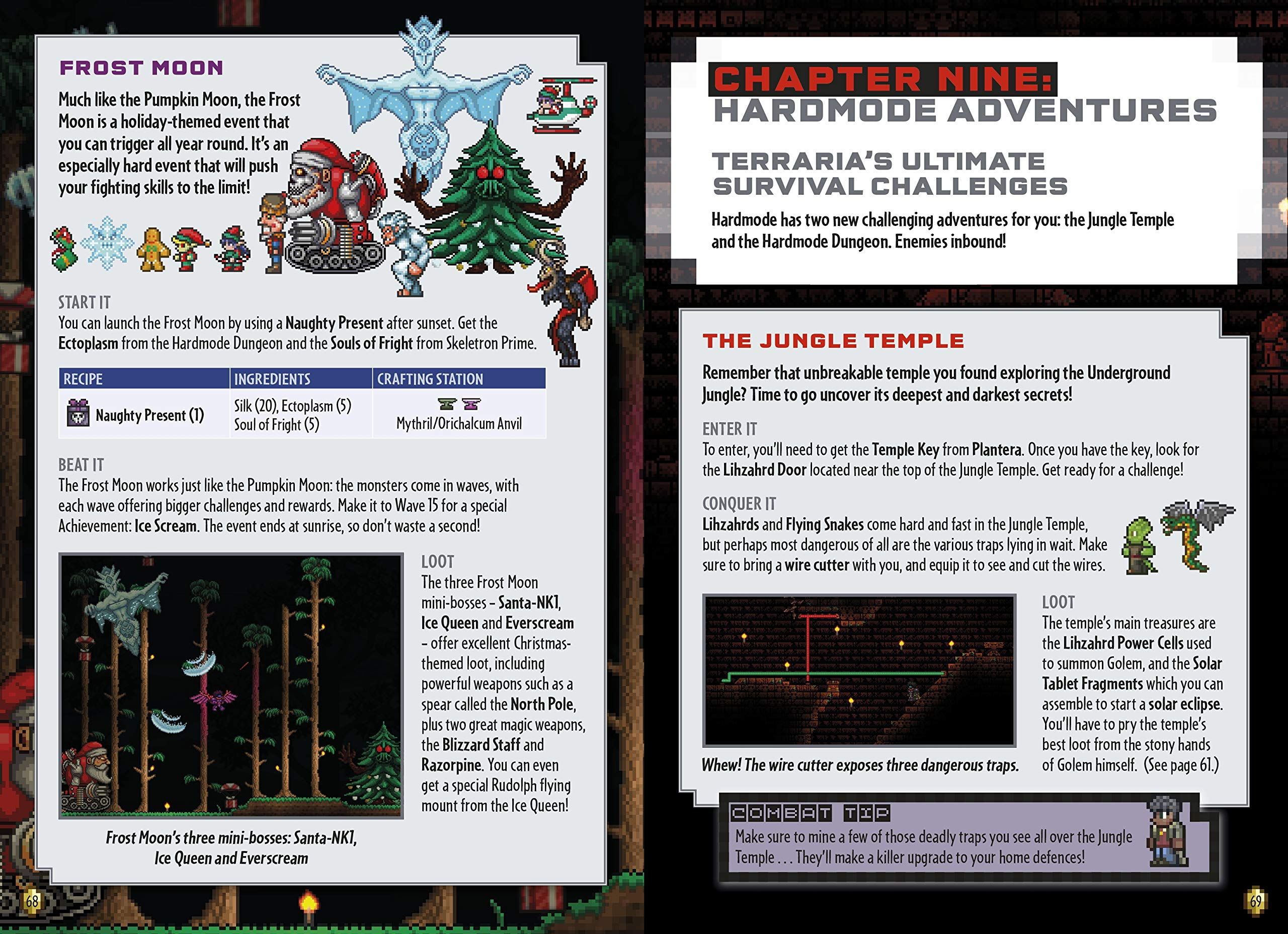 Terraria Hardmode Survival Handbook Na 9780141369921 Amazon Com Books Brought by motivation of the solar eclipse of today. terraria hardmode survival handbook