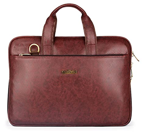 d9d9b0ec56b7 The Clownfish Faux Leather 9 Ltr Brown Laptop Messenger Bag - Buy The  Clownfish Faux Leather 9 Ltr Brown Laptop Messenger Bag Online at Low Price  in India ...