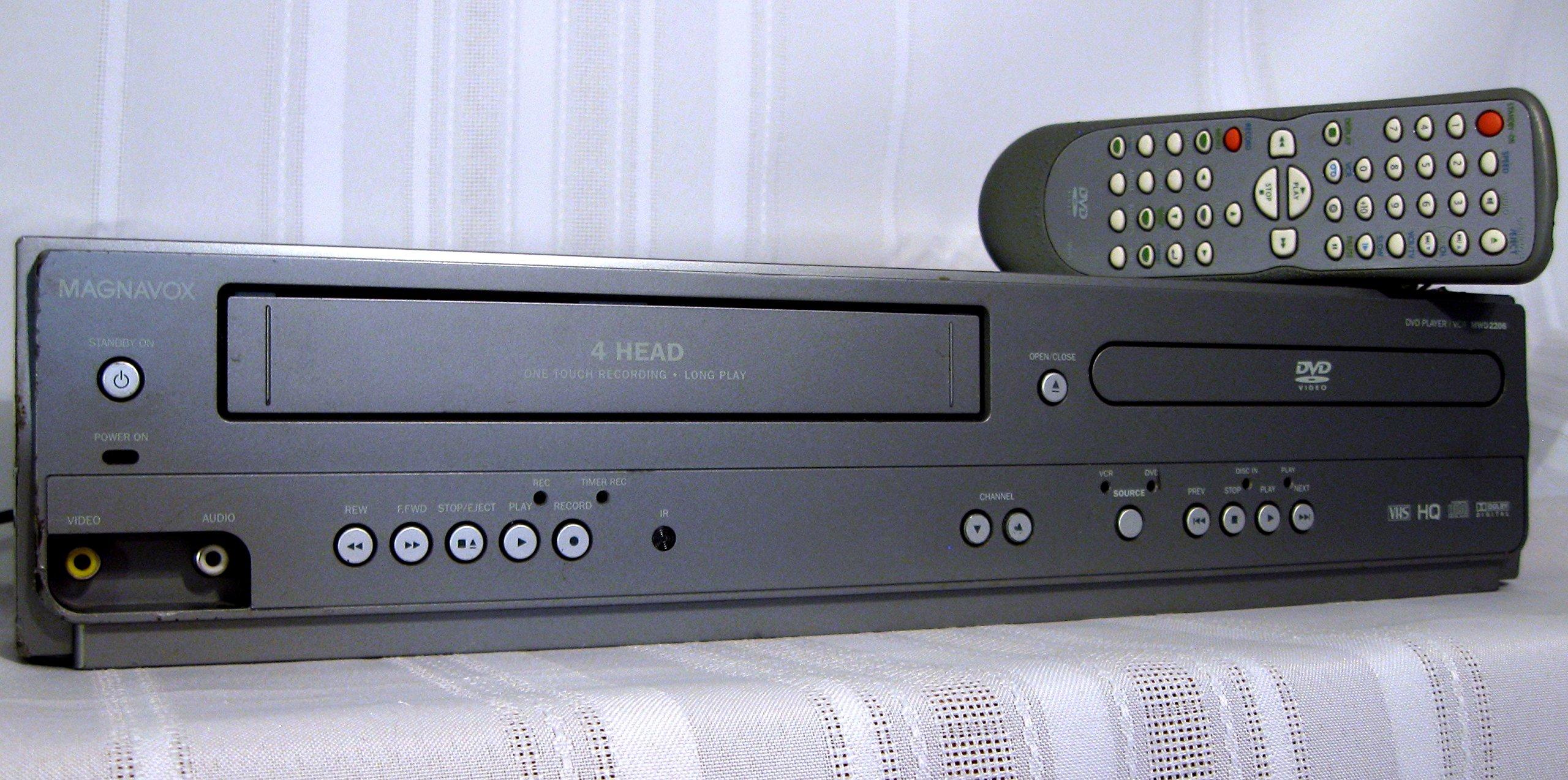 Magnavox DVD/VCR Dual Deck, MWD2206