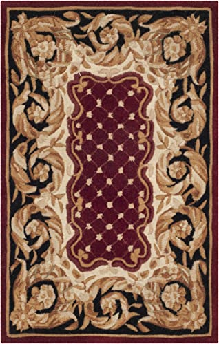 Safavieh Naples Collection NA701A Handmade Multicolored Wool Area Rug, 2 feet by 3 feet 2 x 3