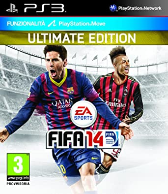 Fifa 14 ultimate edition ps3 aus edition *brand new* + warranty.