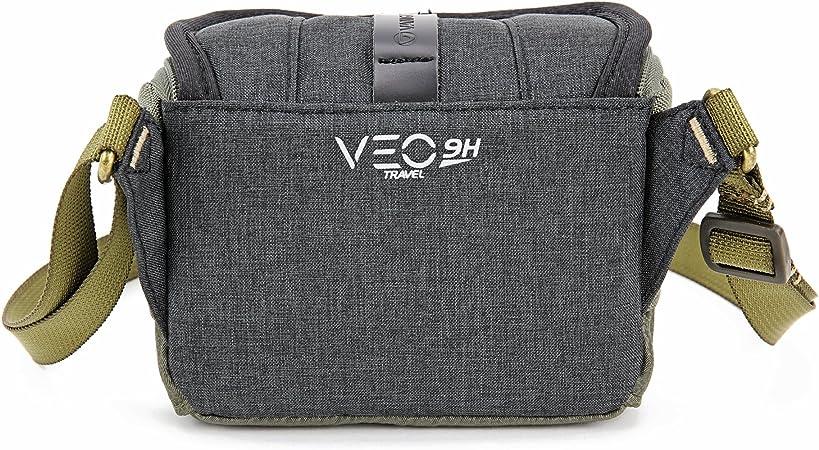 Vanguard Veo Travel 9h Bk Fototasche Schwarz Khaki Kamera