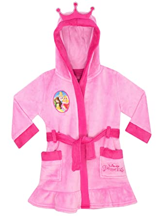 Disney Girls Princess Dressing Gown Age 9 to 10 Years: Amazon.co.uk ...