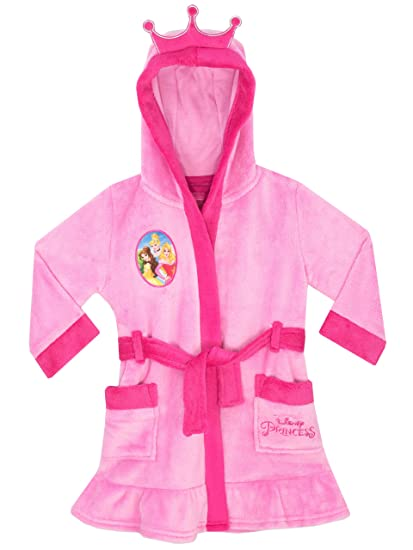 Disney Princesse Robe De Chambre Princesse Fille Rose Taille