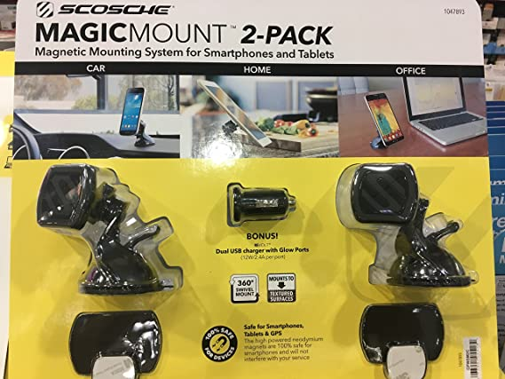 Amazon.com: Scosche magic mount magnetic phone mount: Cell Phones & Accessories