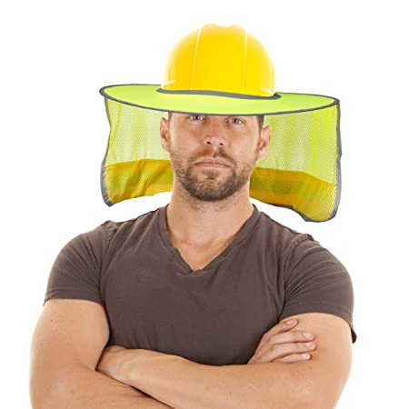 9e74a56d329ed Hard Hat Sun Shield - High Visibility