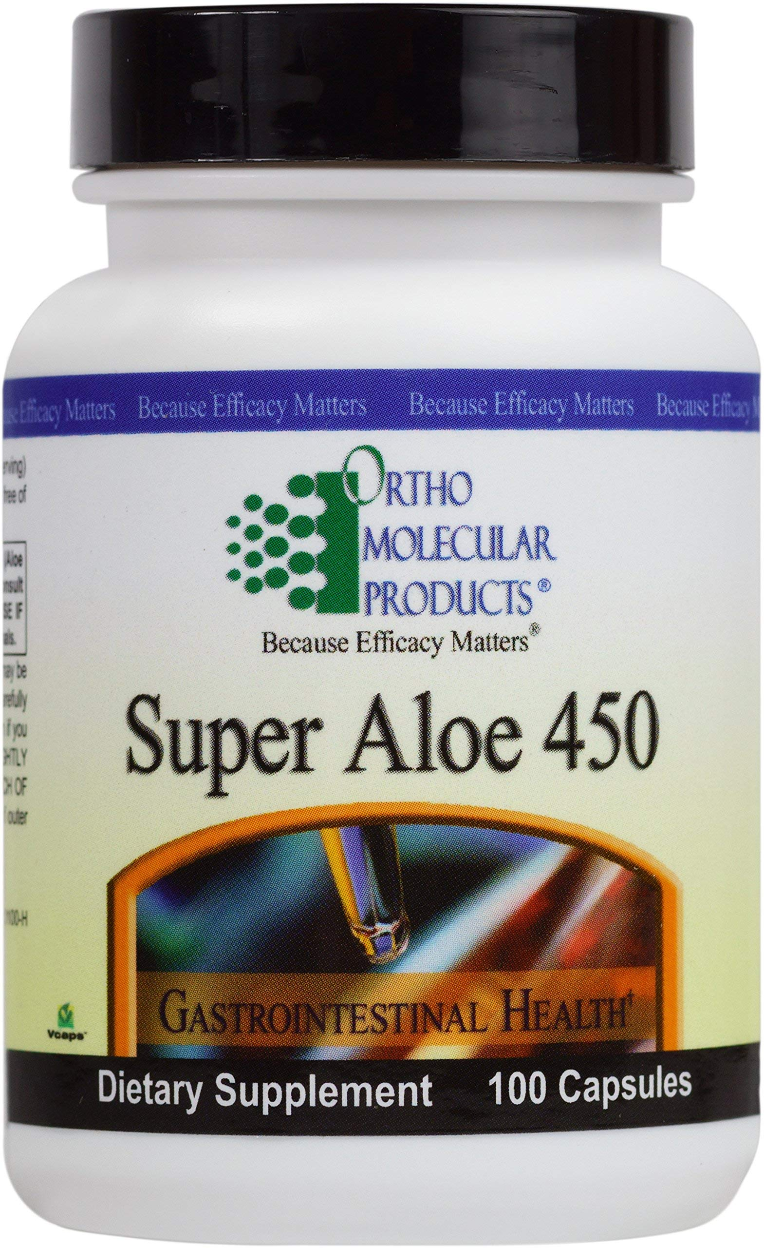 Ortho Molecular - Super Aloe 450 - 100 Capsules