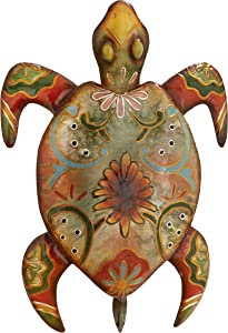 Deco 79 Metal Turtle, 13 by 19""