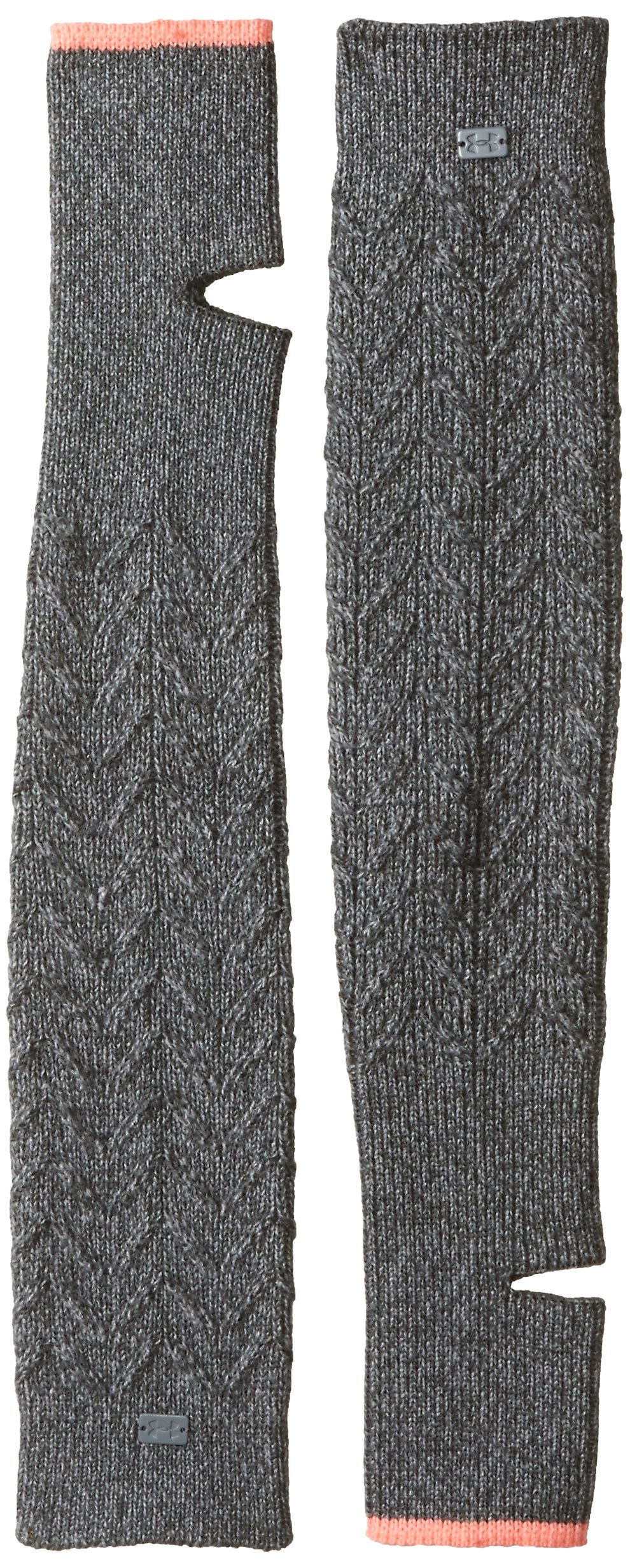 Under Armour Women's Around Town Leg Warmers, Rhino Gray (076)/Steel, One Size