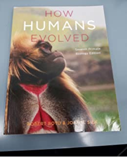 Amazon how humans evolved seventh edition 9780393614862 how humans evolved seventh primate ecology edition fandeluxe Choice Image