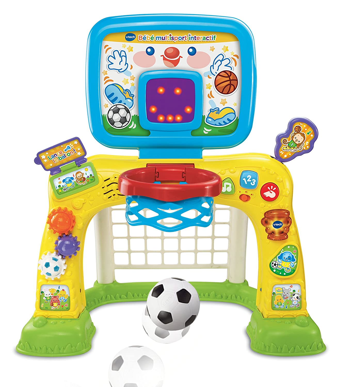 Vtech smart shots sports center french version savings for Chambre bebe toys r us