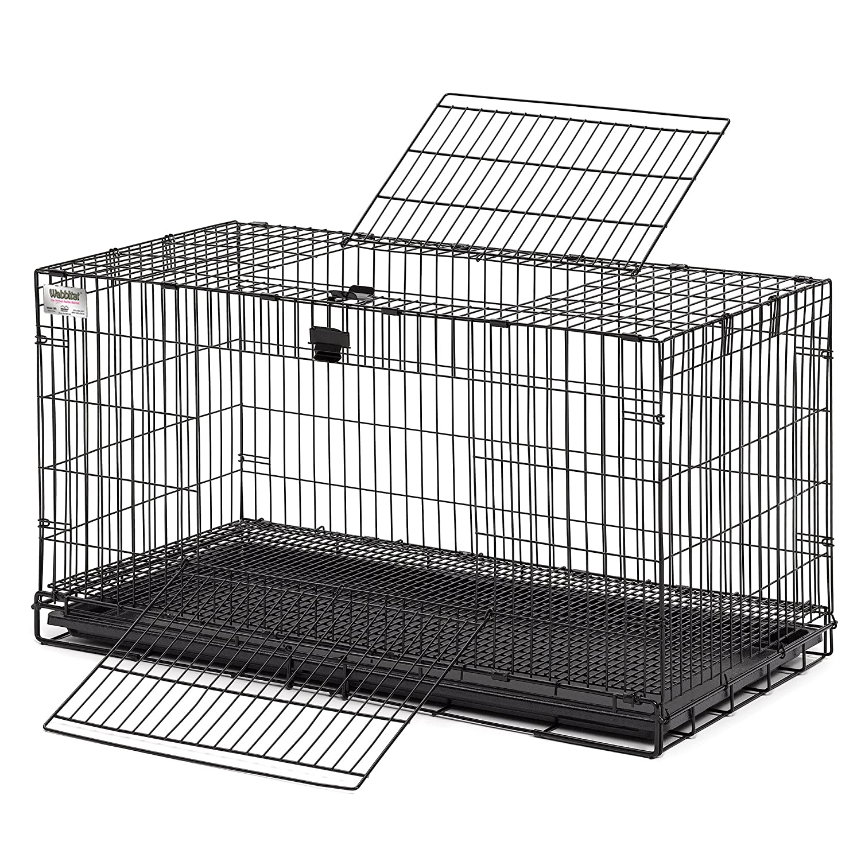 Amazon.com : Midwest Wabbitat Folding Rabbit Cage : Rabbit Hutch ...