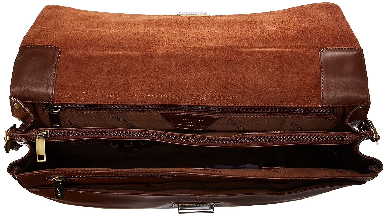 Visconti 18074 Briefcase Black One Size Visconti Luggage