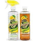 Green Gobbler Pure Cold Pressed ORANGE OIL Concentrate - 22.5 oz (D-Limonene)