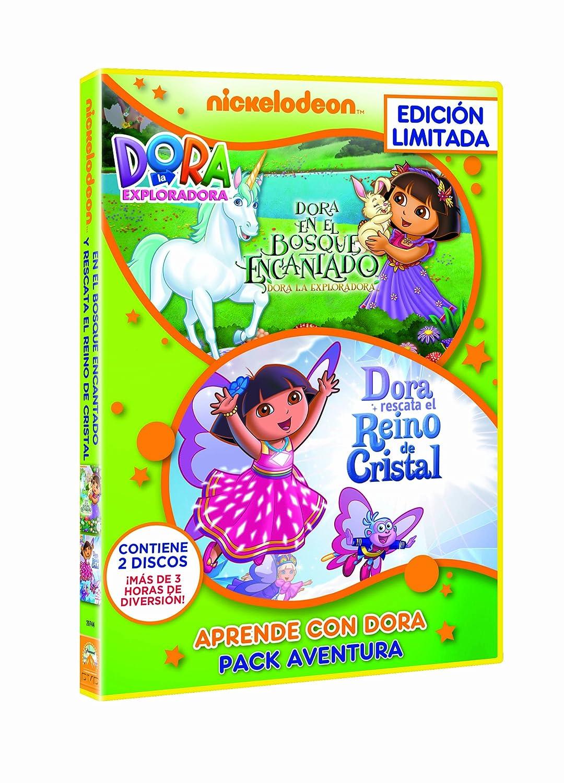 Pack Dora La Exploradora: Aventuras Bosque Encantado + Reino De ...