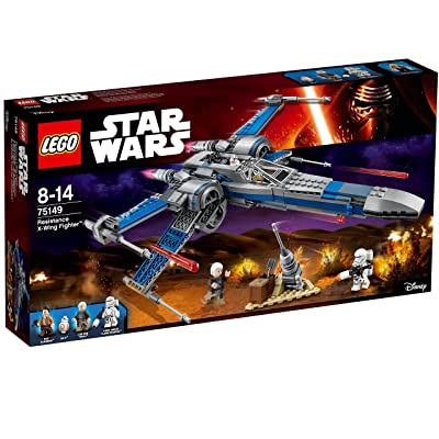 LEGO (Star Wars Resistance X Wing Fighter of 75,149: Toys & Games