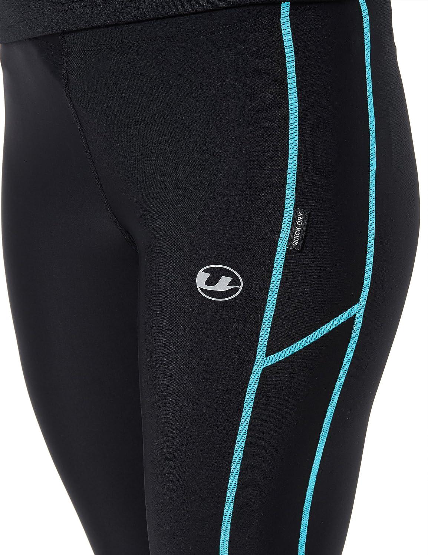 Ultrasport Pantalone Jogging Lunghi Donna Effetto Compressivo E Funzione Quick Dry 3//4