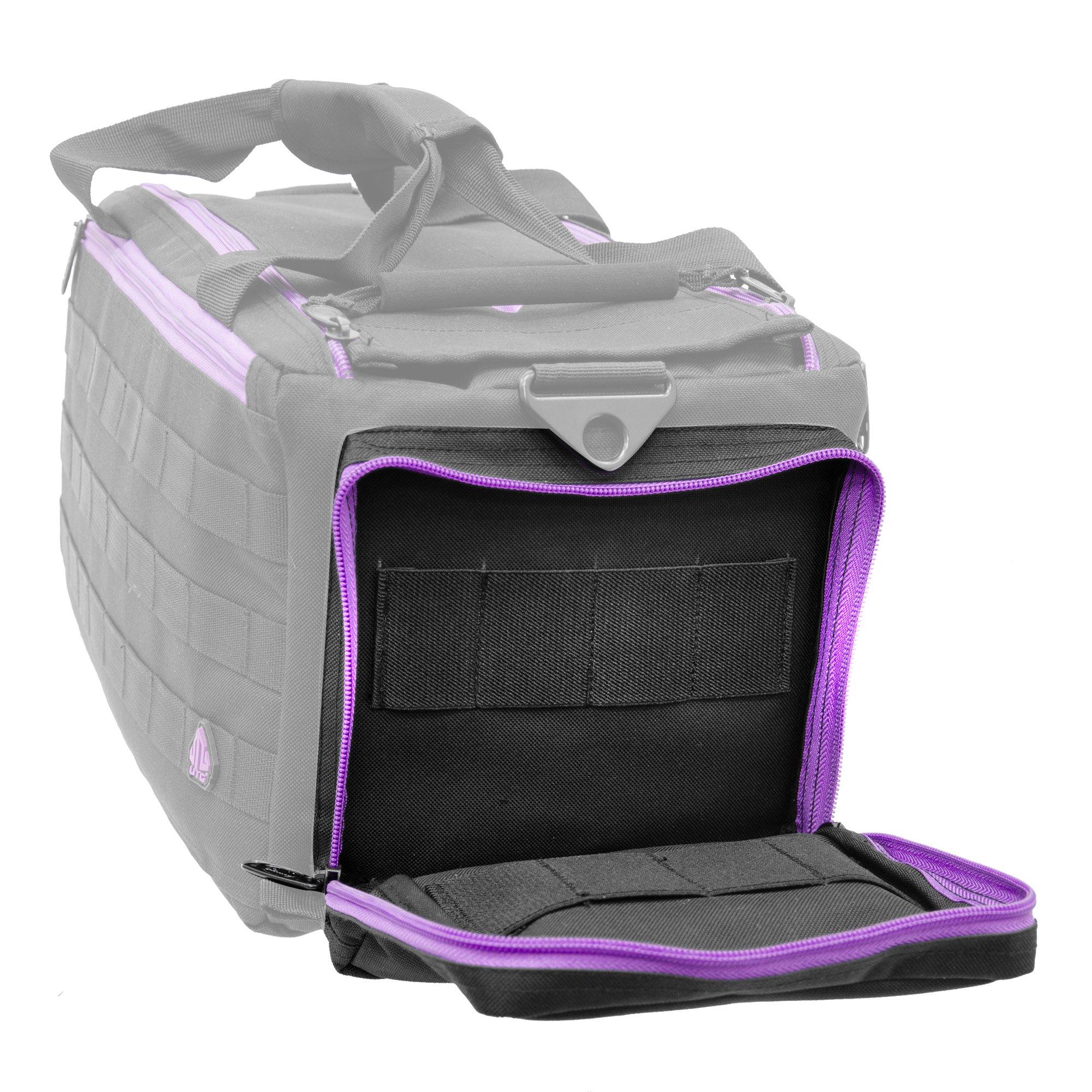 UTG All in One Range/Utility Go Bag, Black/Violet, 21'' x 10'' x 9'' by UTG (Image #9)