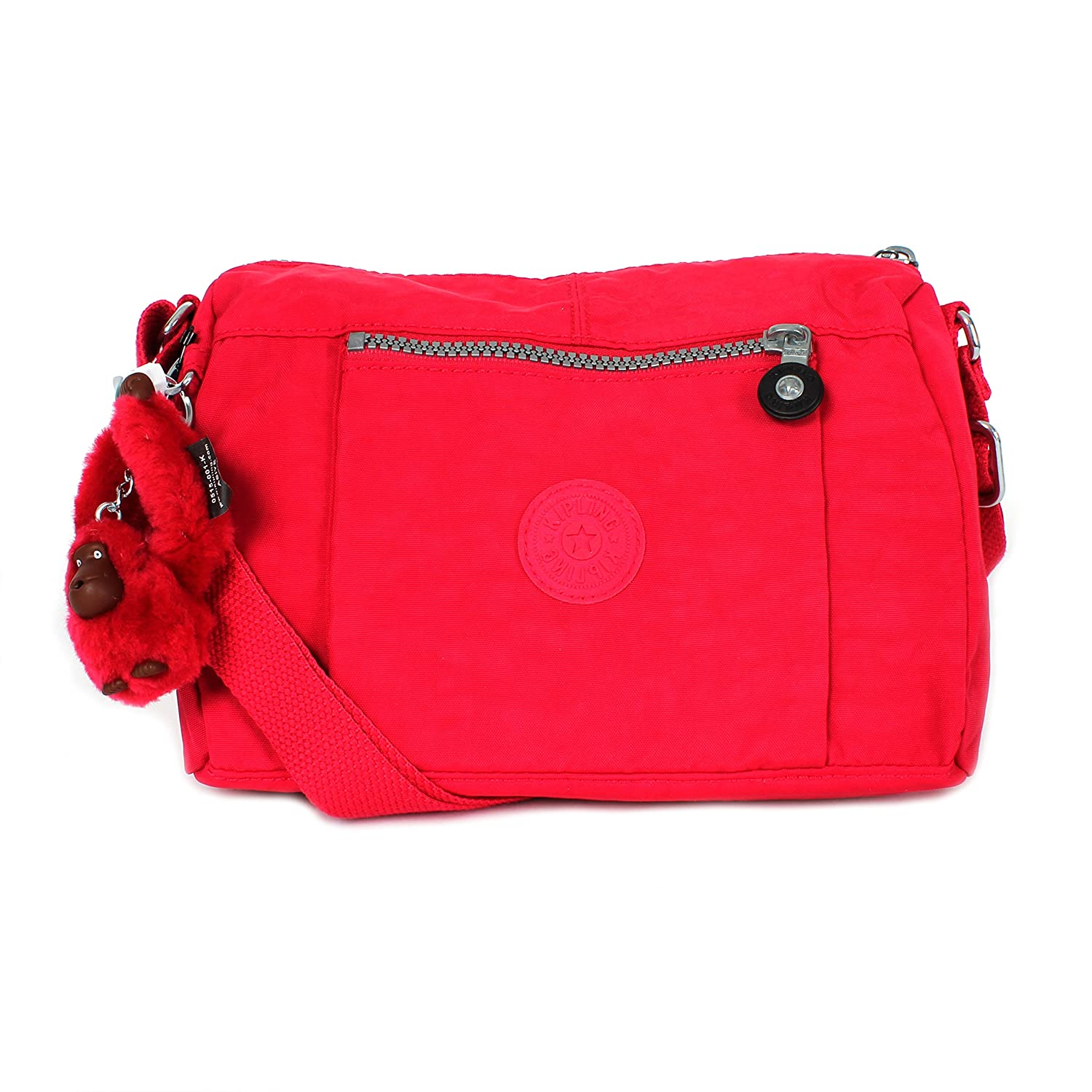 Kipling Wes Messenger Shoulder Bag Flmbyntpnk