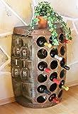 Scaffale-vini Botte vino 1486 Tavolinetto Armadio Botte di legno 72cm Bar vini