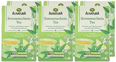 Alnatura Sonnenschein Tee 6er Pack 6 X 60 G Amazonde