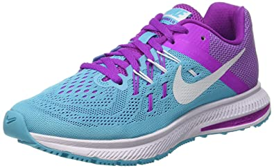 newest 49cac 1f688 Nike Women s Zoom Winflo 2 Running Shoe (5, Gamma Blue White Hyper