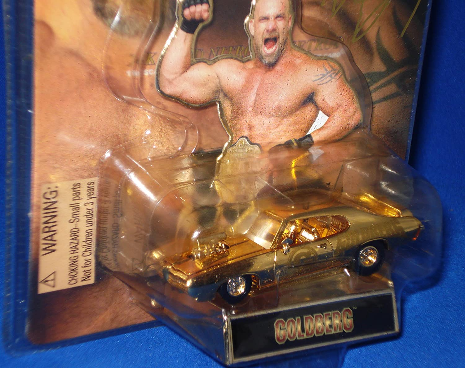 RACING CHAMPIONS WCW GOLDBERG 24K GOLD 1 of 9,998 LIMITED EDITION by WCW Series