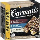 Carman's, Muesli Bar Variety Pack - Dark Choc & Yoghurt, 420 Grams