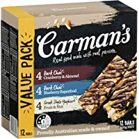 Carman's, Muesli Bar Variety Pack - Dark Choc & Yoghurt, 420 Grams