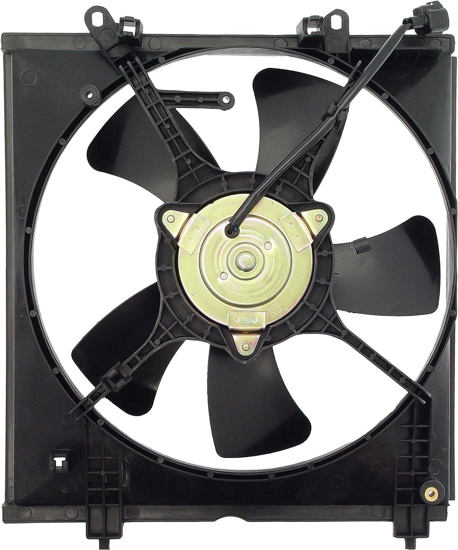 Single Radiator Cooling Fan Assembly for 04-08 Mitsubishi Lancer