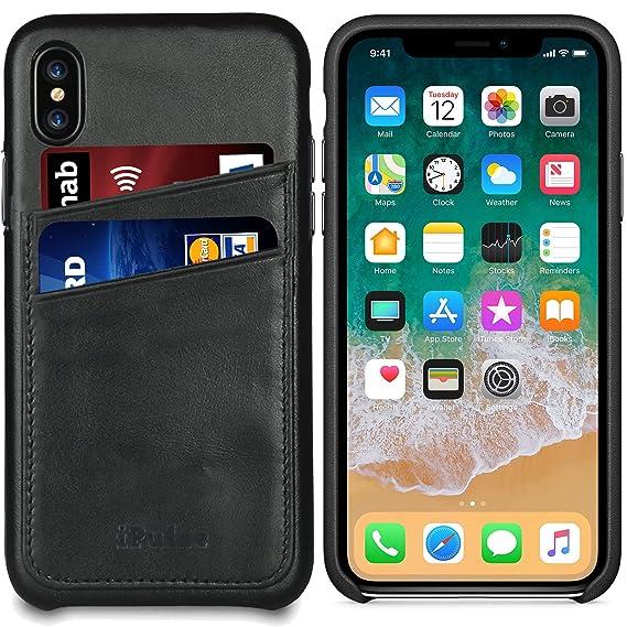 size 40 5aa20 736f2 Amazon.com: Apple iPhone Xs/iPhone X Leather Case - iPulse [Dallas ...