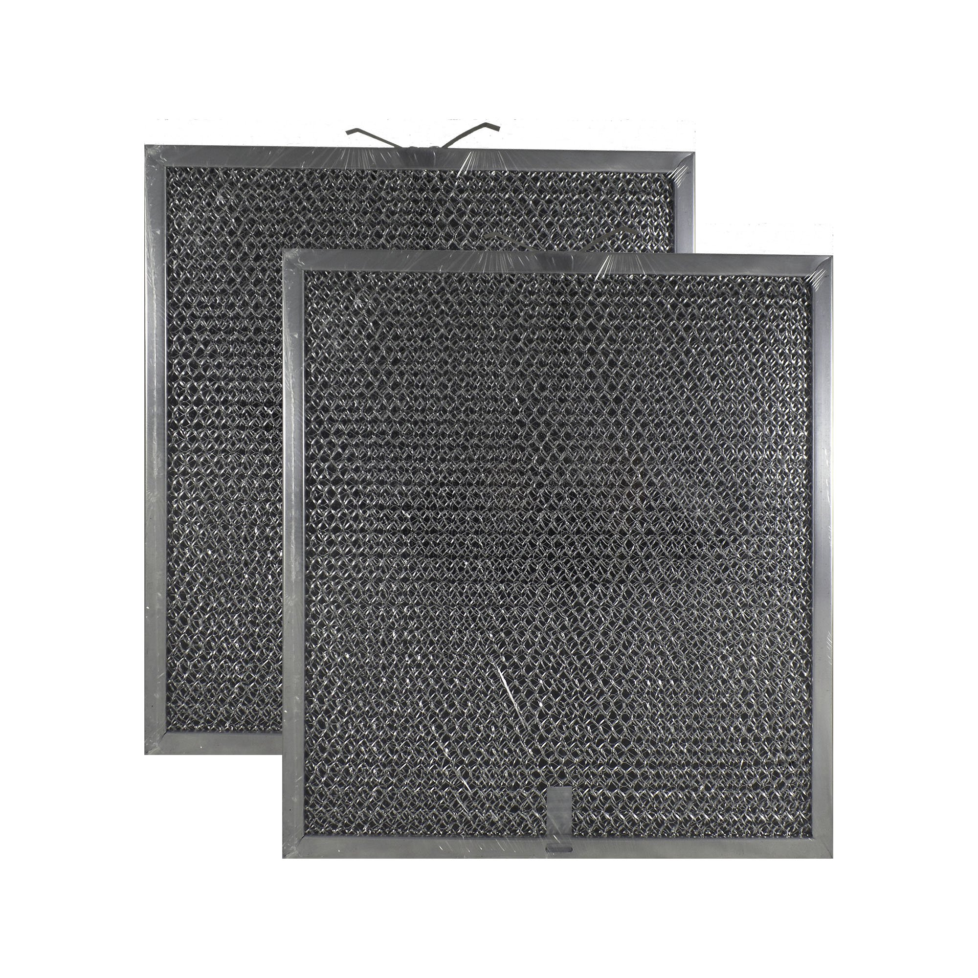 2 PACK Air Filter Factory Compatible Replacement For Broan Nutone QT2000 WA6500, 99010317, BPQTF, WA65F, S99010317 Compatible Aluminum Mesh Charcoal Combo Filter