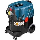 Bosch GAS 35 L AFC Professional - Aspirador para seco/húmedo (capacidad 35 L, filtro de pliegues planos, manguera de 5 m, 3 tubos de aspiración, 1380 W)